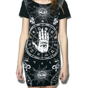 Xl jawbreaker tarot witch dress